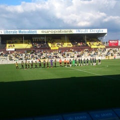 Photo taken at Herman Vanderpoortenstadion | Het Lisp by Inne V. on 7/21/2012