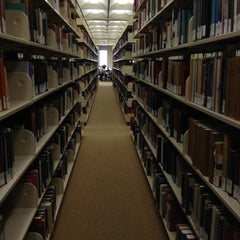 Photo taken at Perry-Castañeda Library (PCL) by Tanya R. on 4/30/2012