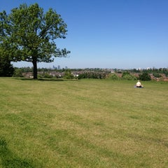 Photo taken at Blythe Hill Fields by Miles B. on 5/26/2012