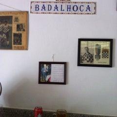 Photo taken at Taberna A Badalhoca by Tiago M. on 9/8/2012