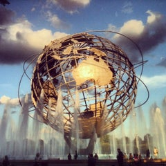 Photo taken at The Unisphere by Joa on 7/28/2012