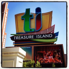 Photo taken at Treasure Island - TI Hotel & Casino by Jay A. on 7/22/2012