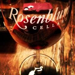 Photo taken at Rosenblum Cellars by Victoria H. on 7/25/2012
