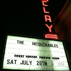 Photo taken at Clay Theatre by Richard D. on 7/29/2012