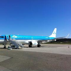 Photo taken at Kristiansand Lufthavn, Kjevik (KRS) by Emile N. on 5/1/2012