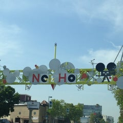 Photo taken at NoHo Sign by K B. on 4/19/2012