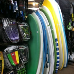 Photo taken at Freeline Design Surf Shop by Walker L. on 8/25/2012