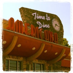 Photo taken at Americana Diner by Christopher J. on 5/17/2012
