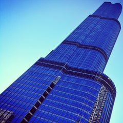 Photo taken at Trump International Hotel & Tower Chicago by Anil P. on 9/12/2012