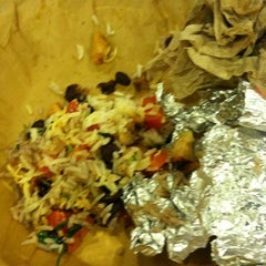 Photo taken at Qdoba Mexican Grill by Emily on 7/10/2012