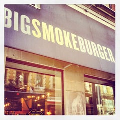 Photo taken at Big Smoke Burger by Jonah H. on 4/13/2012