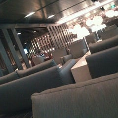 Photo taken at The Qantas Singapore Lounge by Peter S. on 5/29/2012