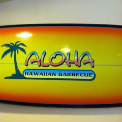Photo taken at Aloha Hawaiian Barbeque by Cat S. on 3/27/2012