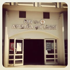 Photo taken at FMV Ayazağa Işık Lisesi by Aykut A. on 7/24/2012