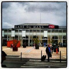 Photo taken at Gare SNCF du Mans by Nicolas G. on 6/25/2012