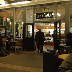 Photo taken at Caffe Strada by Alex B. on 2/24/2012