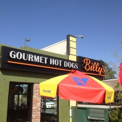 Photo taken at Billy's Gourmet Hot Dogs by Dan P. on 6/11/2012