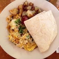 Photo taken at Café Bernardo Midtown by Diana N. on 12/13/2011