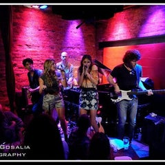 Photo taken at Rockwood Music Hall by Manish G. on 9/23/2011