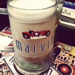 Photo taken at Marvin American Burgers by Marcio M. on 5/27/2012