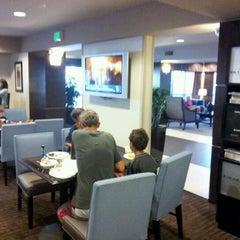 Photo taken at Hampton Inn Carlsbad Airport by Jonasan-san L. on 8/13/2012