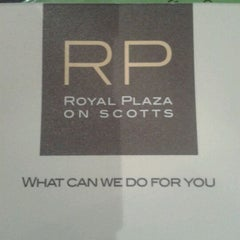 Photo taken at Royal Plaza On Scotts by Jeet Y. on 1/17/2012