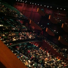 Photo taken at Marion Oliver McCaw Hall by Sarah D. on 4/21/2012