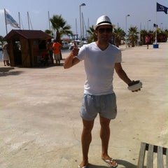 Photo taken at Club Nautico Sant Carles de la Rapita by Alberto A. on 8/18/2012