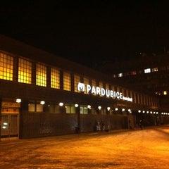 Photo taken at Pardubice hlavní nádraží by Martin S. on 2/16/2012