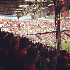 Photo taken at Estadio Nemesio Diez by David A. on 7/22/2012