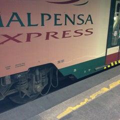 Photo taken at Malpensa Express (Cadorna) by silvia c. on 5/29/2012