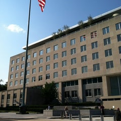 Photo taken at U.S. Department of State, Harry S Truman Building by Bill D. on 9/7/2012