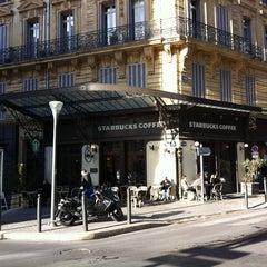 Photo taken at Starbucks by céline m. on 4/25/2012