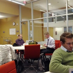 Photo taken at Eccles School of Business Graduate Leadership Lounge by Tyler R. on 1/19/2012