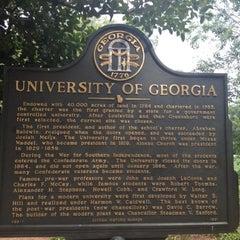 Photo taken at University of Georgia by Erik B. on 8/20/2012