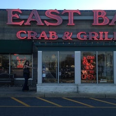 Photo taken at East Bay Crab & Grille by Chas S. on 4/4/2012