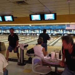 Photo taken at Lane Glo Bowl by Margo V. on 3/16/2012