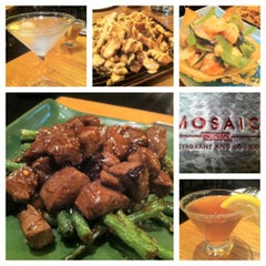 Photo taken at Mosaic Restaurant & Lounge - Four Points By Sheraton by Chin L. on 5/12/2012