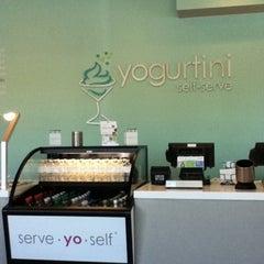 Photo taken at YogurtiniOP by Jessica G. on 8/9/2012