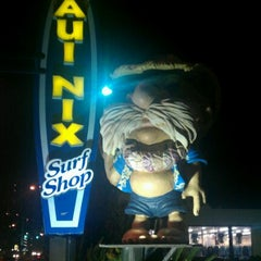 Photo taken at Maui Nix Surf Shop - The Original by Laura S. on 11/13/2011