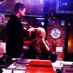 Photo taken at Milios Hair Studio by Leigha K. on 5/4/2012