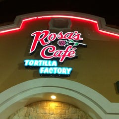 Photo taken at Rosa's Cafe Tortilla Factory by Stefanie M. on 11/9/2011