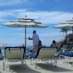 Photo taken at Marriott Casa Magna Pool by J K. on 11/6/2011
