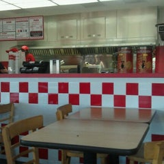 Photo taken at Five Guys Burgers & Fries by Joshua N. on 9/1/2011