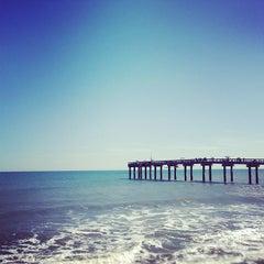 Photo taken at St. Augustine Pier by Geoff D. on 1/28/2012