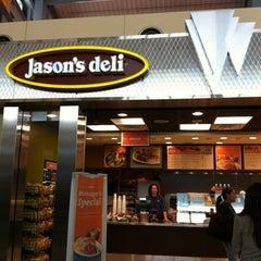 Photo taken at Jason's Deli by Crissy M. on 10/20/2011