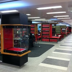 Photo taken at The Baillieu Library by Kat F. on 8/15/2011