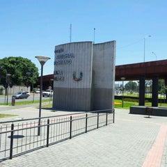 Photo taken at Estação Tubo Marechal Floriano Peixoto by Lucas N. on 1/4/2012