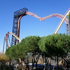 Photo taken at Parque de Atracciones de Madrid by Parker D. on 11/27/2011