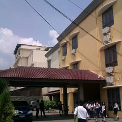 Photo taken at Yayasan Perguruan Sutomo 1 by Elisa N. on 5/24/2012
